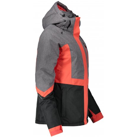 Dámská lyžařská bunda ALPINE PRO SARDARA 2 LJCM287 ČERVENÁ
