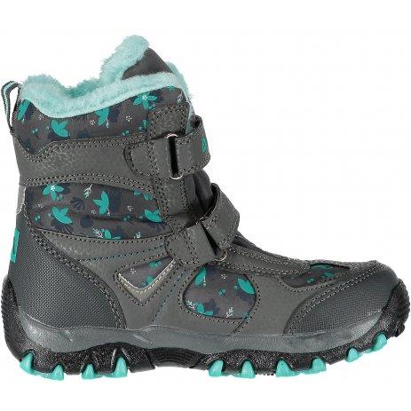 Dětské zimní boty ALPINE PRO WANO KBTM169 ZELENÁ
