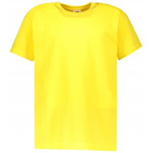 Dětské tričko FRUIT OF THE LOOM VALUEWEIGHT T YELLOW