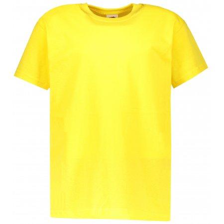 Dětské tričko FRUIT OF THE LOOM VALUEWEIGHT T YELLOW