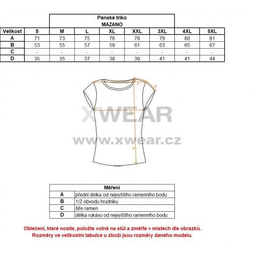 Pánské funkční triko ALTISPORT MAZANO ALMS18076 ČERNÁ