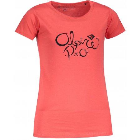 Dětské triko ALPINE PRO SHAGO KTSM171 ČERVENÁ