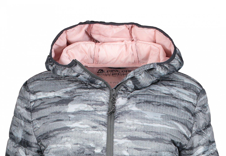 a9e03e244f07 Dámský kabát ALPINE PRO ARICA LCTM085 TMAVĚ ŠEDÁ velikost  L   XWEAR.cz