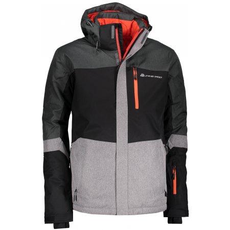 Pánská lyžařská bunda ALPINE PRO SARDAR 2 MJCM308 ČERNÁ