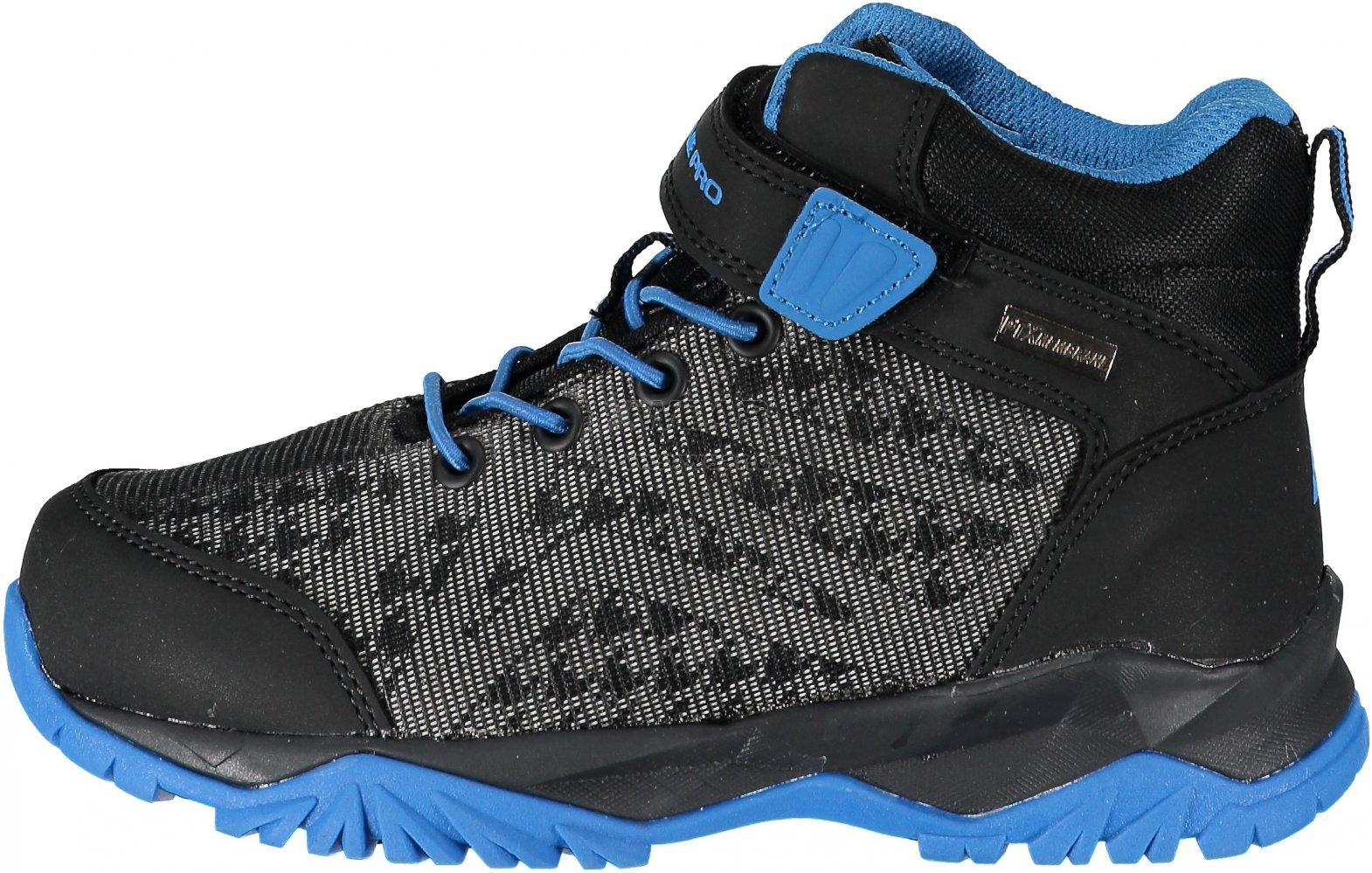 1241b3246de6 Dětská turistická obuv ALPINE PRO UGO KBTM171 MODRÁ velikost  28 ...