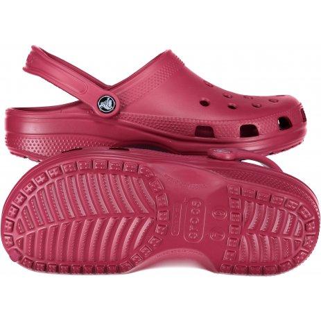 Dámské pantofle CROCS CLASSIC 10001-6D1 POMEGRANATE