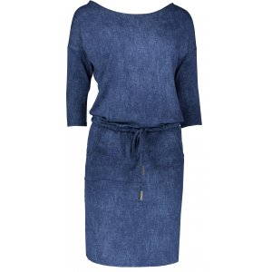 Dámské šaty NUMOCO A13-19 TMAVĚ MODRÁ