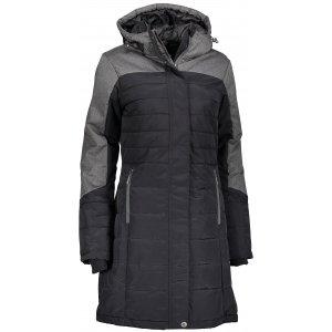 Dámský zimní kabát ALPINE PRO TESSA 2 LCTM061 ČERNÁ