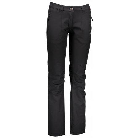 Dámské softshellové kalhoty ALPINE PRO DIMASA 2 LPAM233 ČERNÁ