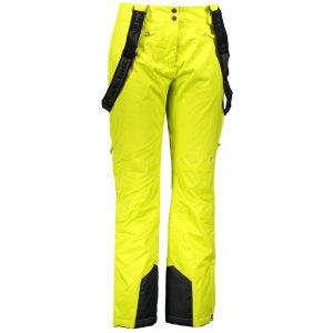 Dámské lyžařské kalhoty ALPINE PRO MINNIE 4 LPAM280 ŽLUTÁ