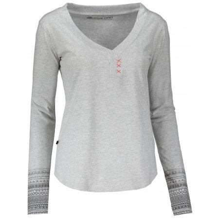 Dámské triko ALPINE PRO PERKOSA LTSM343 SVĚTLE ŠEDÁ