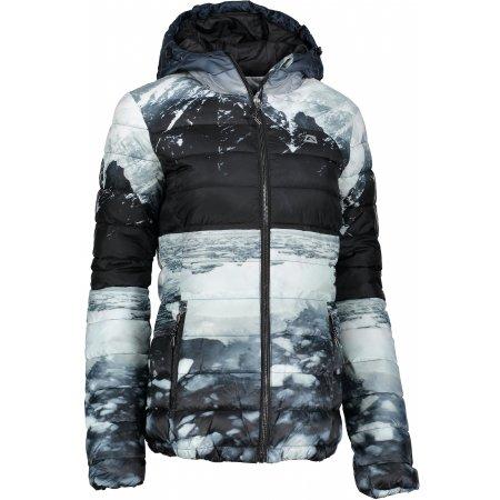 Dámská zimní bunda ALPINE PRO MAQIA LJCM316 ČERNÁ