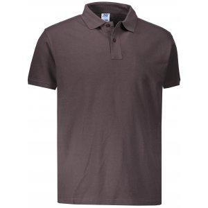 Pánské triko s límečkem JHK POLO REGULAR MAN GRAPHITE