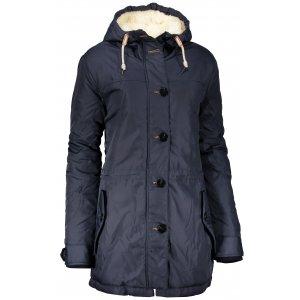 Dámský zimní kabát SAM 73 WB 752 TMAVĚ MODRÁ