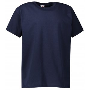 Dětské tričko FRUIT OF THE LOOM VALUEWEIGHT T DEEP NAVY
