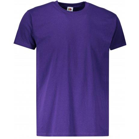 Pánské tričko FRUIT OF THE LOOM VALUEWEIGHT T PURPLE