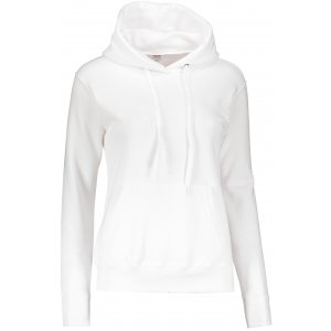 Dámská mikina s kapucí FRUIT OF THE LOOM CLASSIC SWEAT WHITE