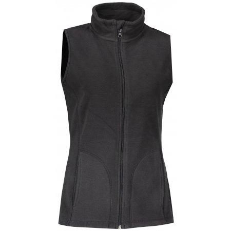 Dámská fleecová vesta STEDMAN ACTIVE BLACK OPAL velikost  M   XWEAR.cz 96038ee25a