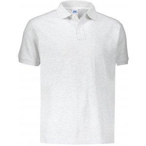 Pánské triko s límečkem JHK POLO REGULAR MAN ASH MELANGE