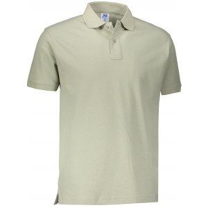 Pánské triko s límečkem JHK POLO REGULAR MAN PALE GREEN