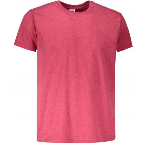 Pánské tričko FRUIT OF THE LOOM VALUEWEIGHT T VINTAGE HEATHER RED