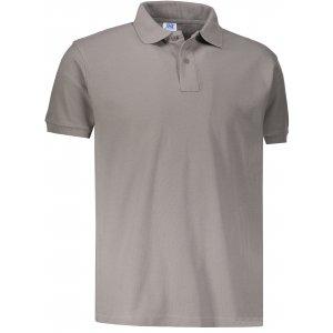 Pánské triko s límečkem JHK POLO REGULAR MAN ZINC