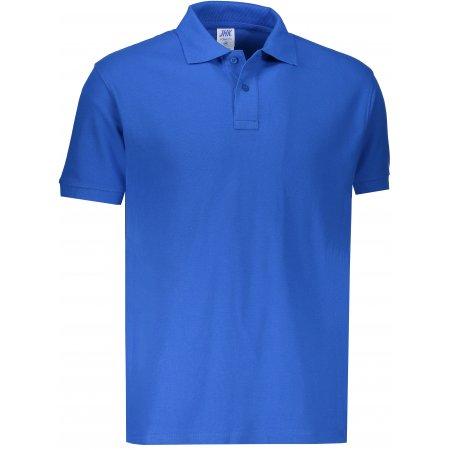 Pánské triko s límečkem JHK POLO REGULAR MAN ROYAL BLUE