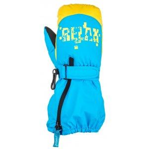Dětské lyžařské rukavice RELAX PUZZYTO RR17H BLUE 6154374386