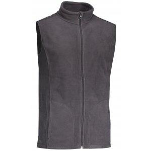 Pánská fleecová vesta STEDMAN ACTIVE GREY STEEL