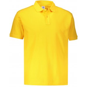 Pánské triko s límečkem JHK POLO REGULAR MAN GOLD