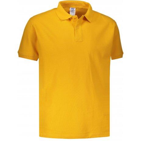 Pánské triko s límečkem JHK POLO REGULAR MAN MUSTARD