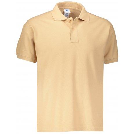 Pánské triko s límečkem JHK POLO REGULAR MAN SAND