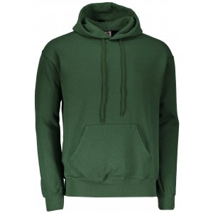 Pánská mikina s kapucí FRUIT OF THE LOOM CLASSIC HOODED SWEAT BOTTLE GREEN