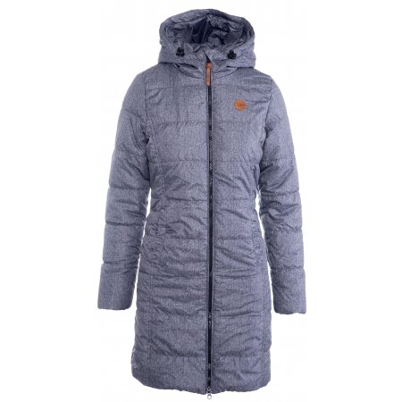 Dámský kabát SAM 73 WB 754 TMAVĚ MODRÁ