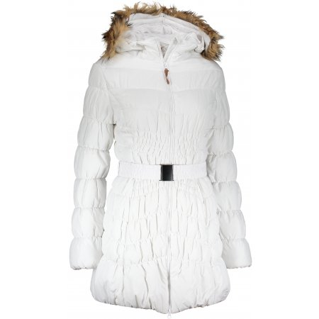 Dámský zimní kabát SAM 73 WB 753 BÍLÁ