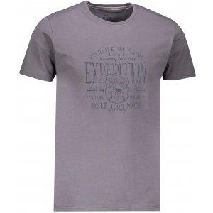 Pánské triko s krátkým rukávem LOAP BETAR CLM1885 ŠEDÁ