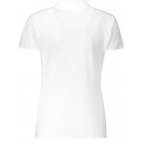 Dámské tričko s límečkem FRUIT OF THE LOOM LADY FIT PREMIUM POLO WHITE