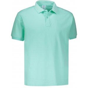 Pánské triko s límečkem JHK POLO REGULAR MAN MINT GREEN