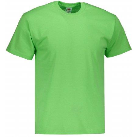 Pánské tričko FRUIT OF THE LOOM ORIGINAL LIME