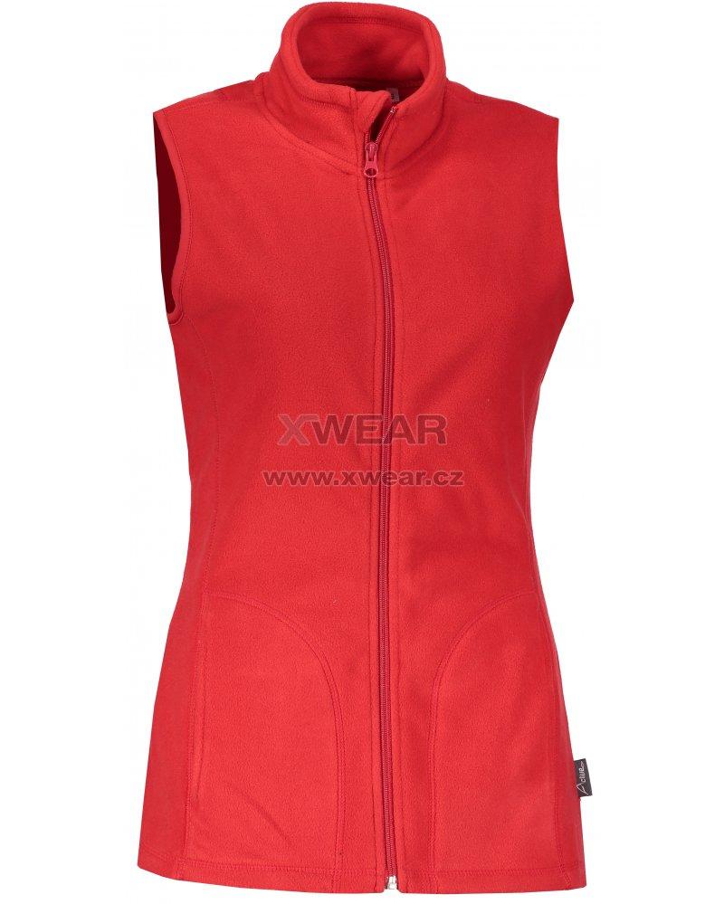 Dámská fleecová vesta STEDMAN ACTIVE SCARLET RED velikost  L   XWEAR.cz ba7204725a
