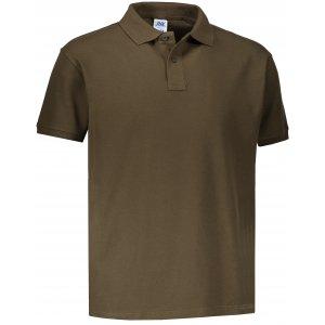 Pánské triko s límečkem JHK POLO REGULAR MAN KHAKI
