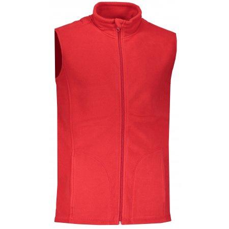 Pánská fleecová vesta STEDMAN ACTIVE SCARLET RED