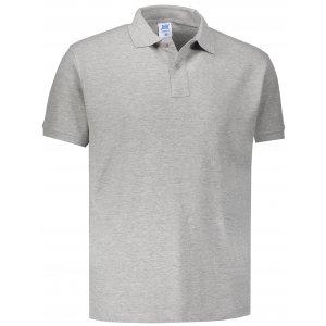 Pánské triko s límečkem JHK POLO REGULAR MAN GREY MELANGE