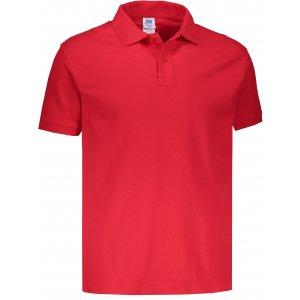 Pánské triko s límečkem JHK POLO REGULAR MAN RED