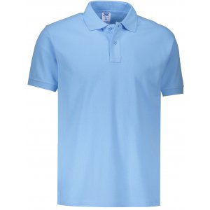 Pánské triko s límečkem JHK POLO REGULAR MAN SKY BLUE