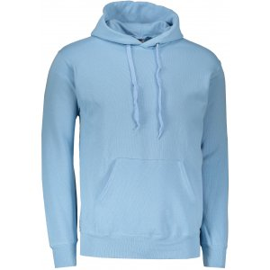 Pánská mikina  s kapucí FRUIT OF THE LOOM CLASSIC HOODED SWEAT SKY BLUE