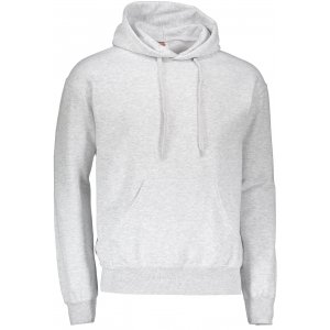 Pánská mikina  s kapucí FRUIT OF THE LOOM CLASSIC HOODED SWEAT HEATHER GREY