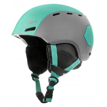 Lyžařská helma RELAX COMBO RH25E ZELENÁ