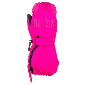 Dětské lyžařské rukavice RELAX PUZZYTO RR17G PINK 823774b285