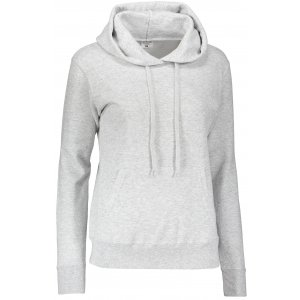 Dámská mikina s kapucí FRUIT OF THE LOOM CLASSIC SWEAT HEATHER GREY